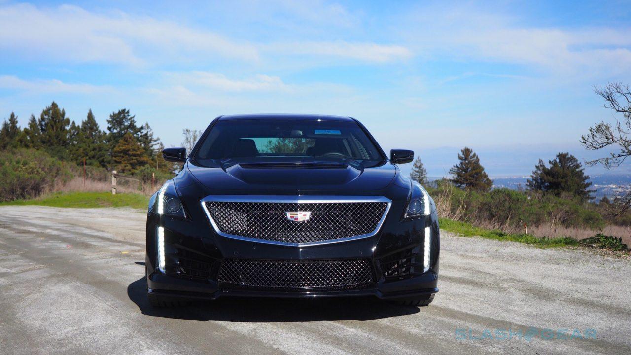 2016 Cadillac CTS-V Review: Darth Vader's ride - SlashGear