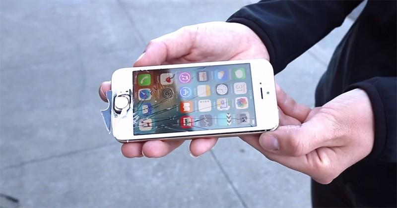 iPhone SE gets dropped, smashed, and dunked in durability test