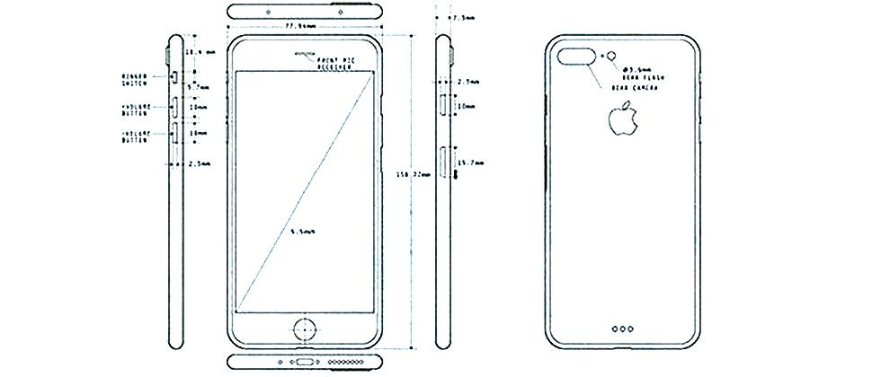 iPhone 7 Pro details appear in release blueprints
