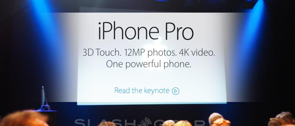 How to present an iPhone Pro