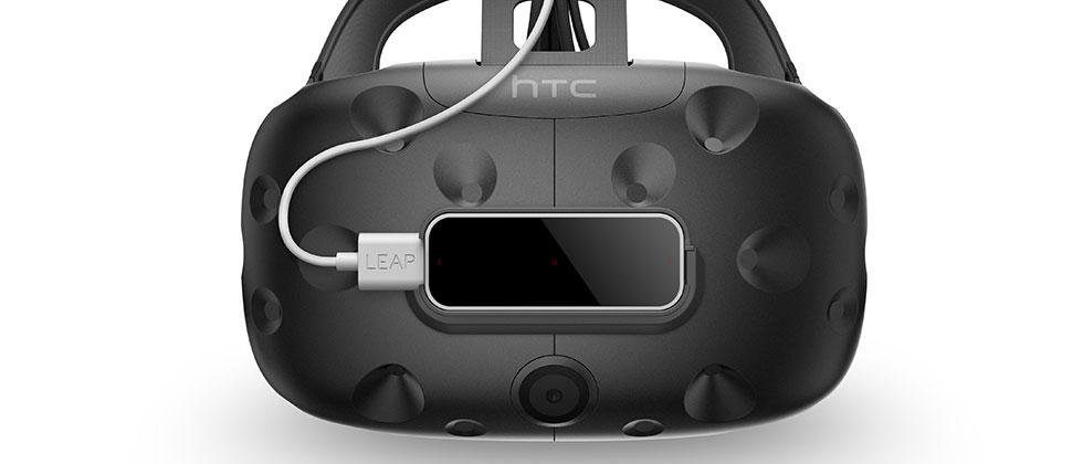 Leap Motion just updated to meet the HTC Vive head-on