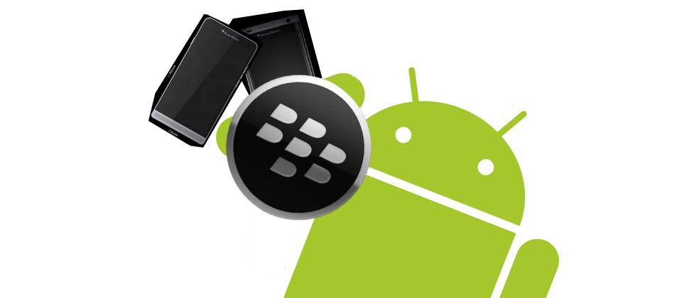 BlackBerry's next two Android phones appear in leaked images