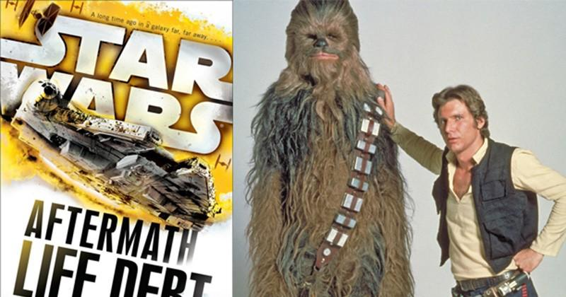 Follow Han and Chewie as they liberate Kashyyyk in the next Star Wars book