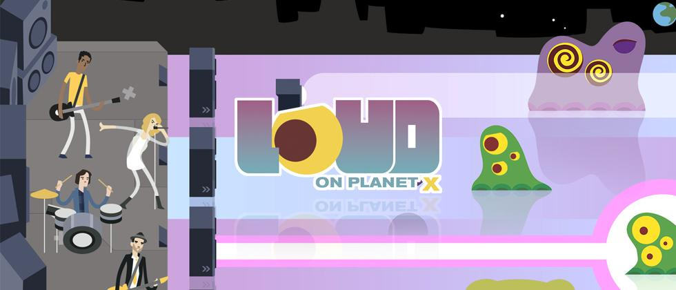 LOUD on Planet X Review : Castle Defense in the Music Arena