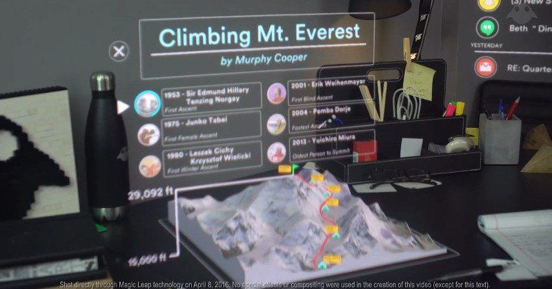 Magic Leap demo video shows company's Mixed Reality vision