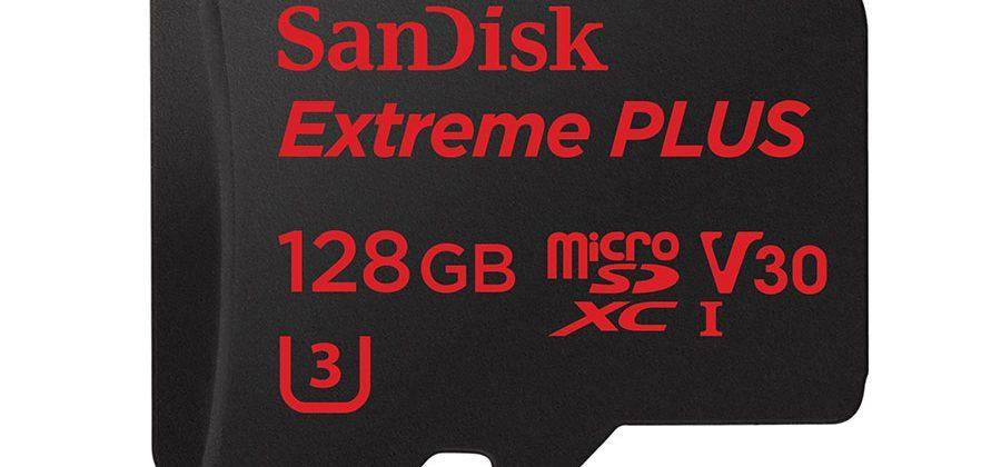 SanDisk 128GB Extreme Plus gets Works with GoPro verified