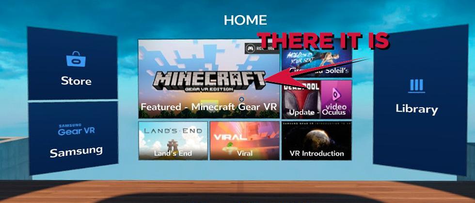 Minecraft GearVR released in Oculus Store now – Galaxy downloads aplenty