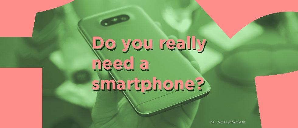Do you really need a smartphone?