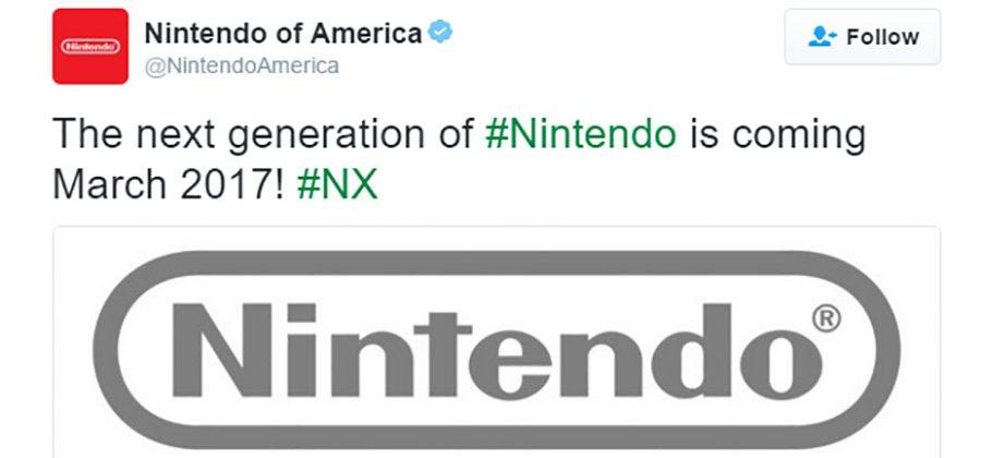 Nintendo NX to launch in March 2017 and skip E3