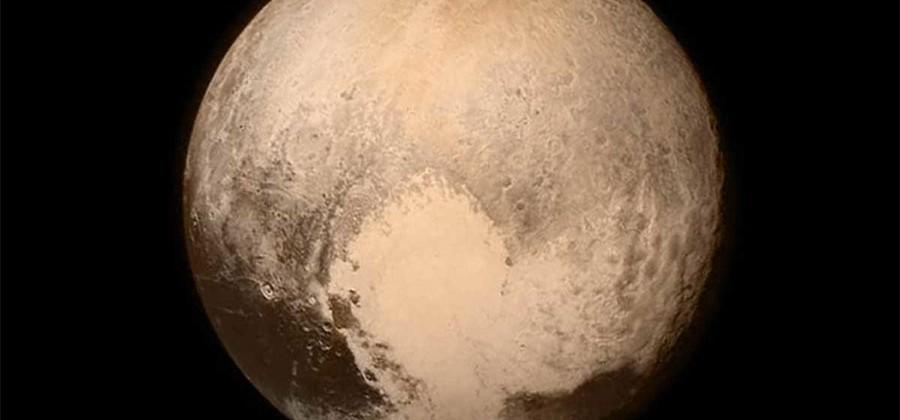 Pluto's heart may be heavy enough to have tipped it over