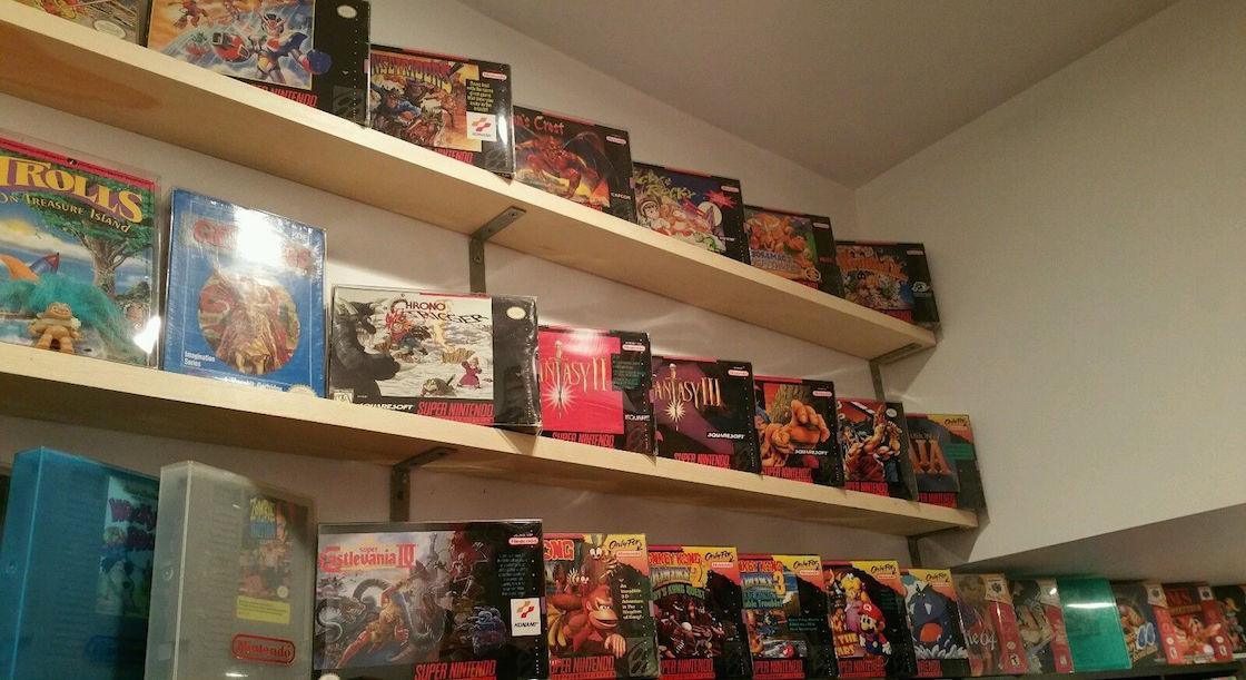 Gamer gives up the dream, selling collection of 3,000+ titles across 20 consoles