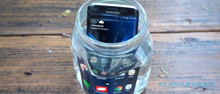Galaxy S7 Edge dunked in water for 16 hours, will it survive?