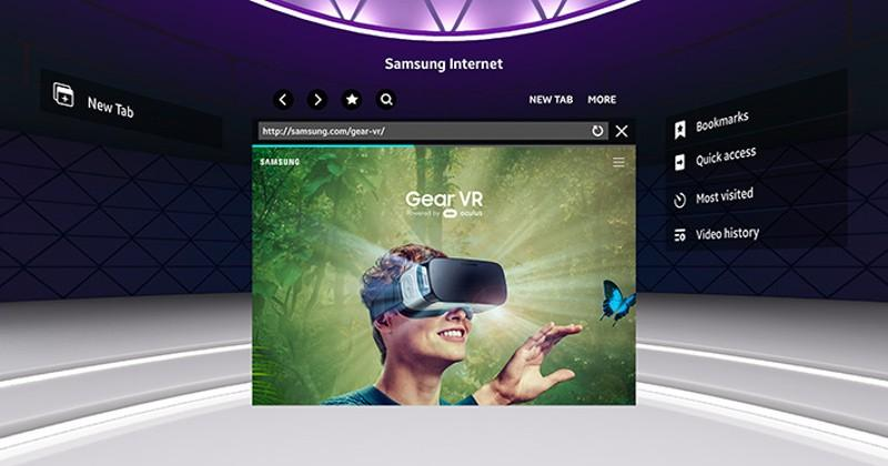 Samsung Internet browser for Gear VR now supports WebVR