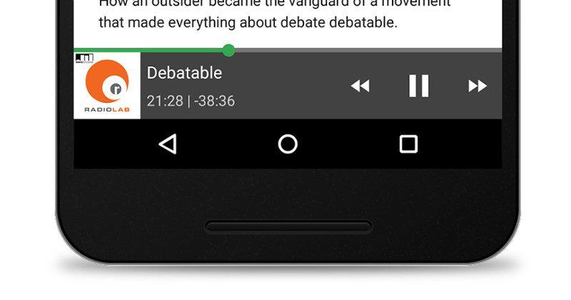 Listen to podcasts, see live TV listings in Google Search app