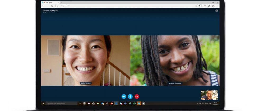 Skype drops the requirement for plugins on its web app