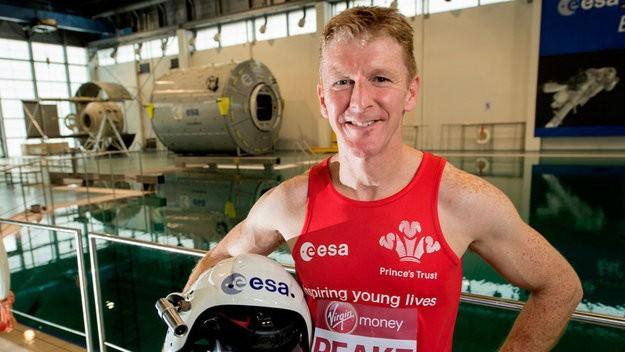 Astronaut Tim Peake completes London marathon on ISS
