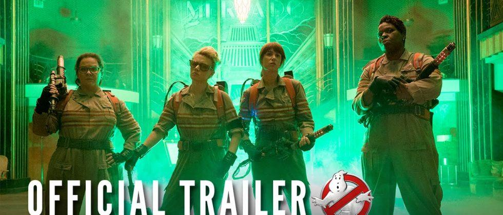Ghostbusters reboot trailer sets YouTube 'most hated' record