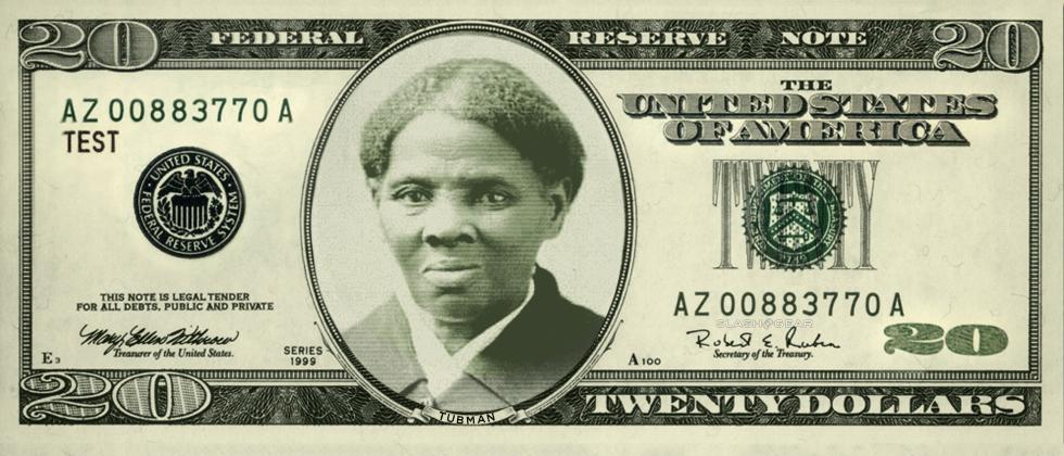 New $20 bill to depict Harriet Tubman; 3rd woman ever on US paper money