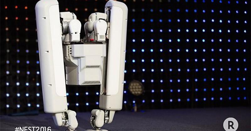 Alphabet unveils new bipedal robot that's all legs