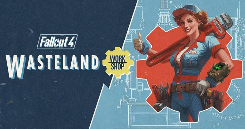 Fallout 4's Wasteland Workshop DLC gets a release date, trailer