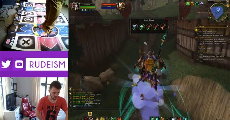 World of Warcraft Twitch streamer dances his way to level 100