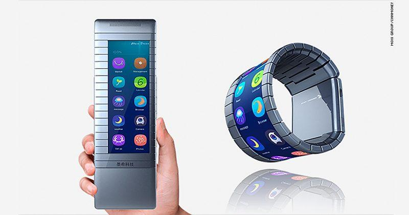Moxi bendable phone could beat Samsung to market but in black & white