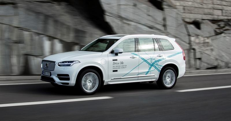 Volvo UK to test autonomous cars with real families, real roads