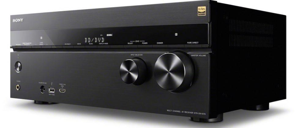 Sony debuts new audio gear for the ultimate home theater setup
