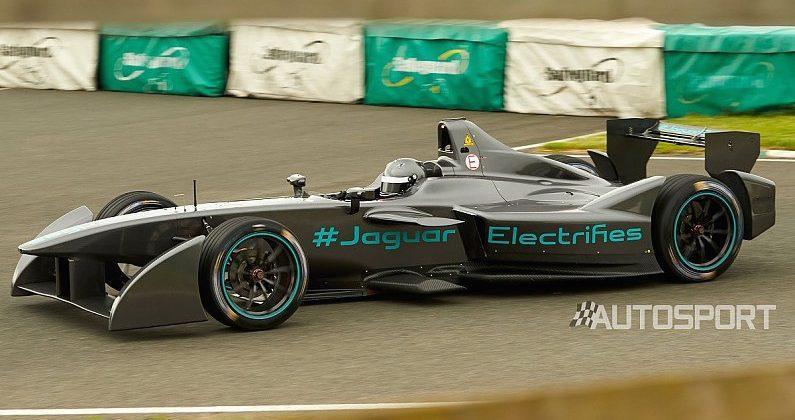 Jaguar's Formula E race car revealed in first photos
