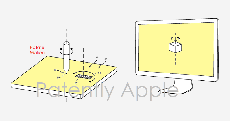 Apple patent hints at future Pencil working on Mac trackpads