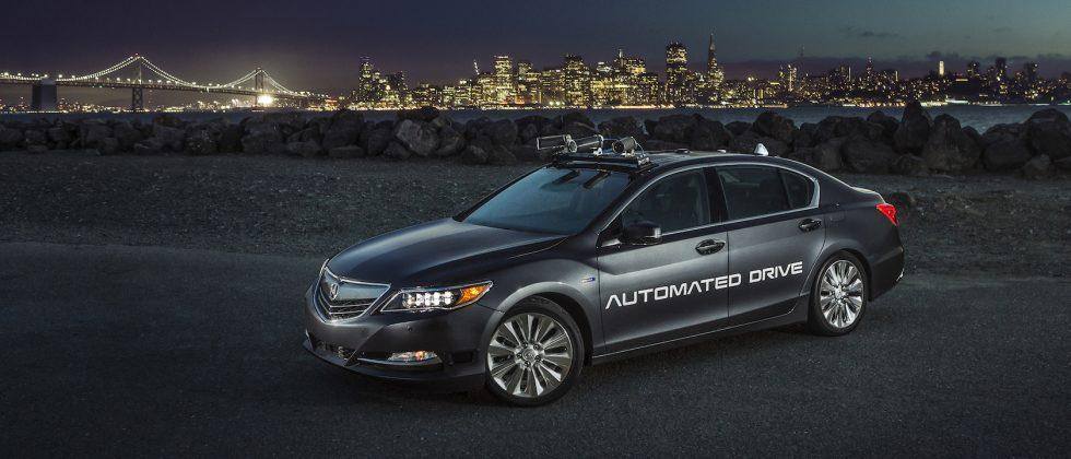 Smarter and sleeker: This is Acura's new self-driving prototype