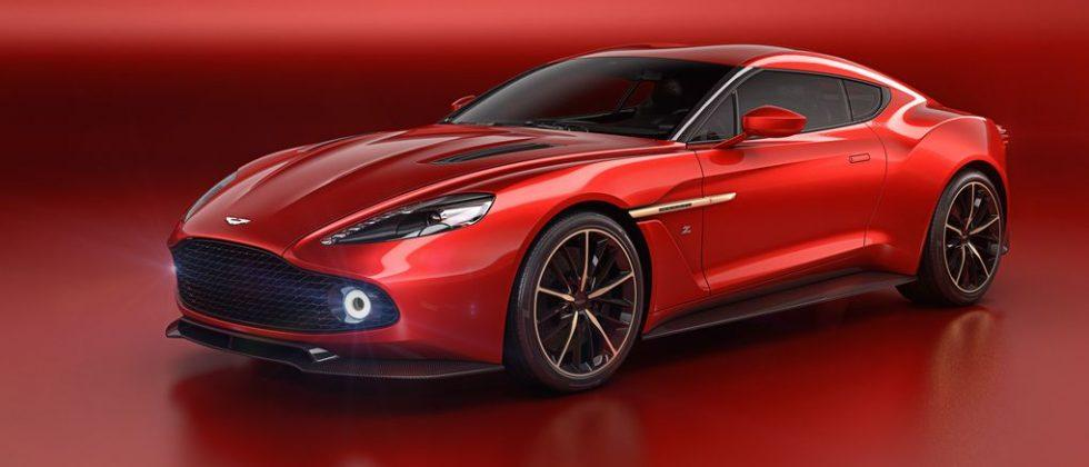 Aston Martin's newest Vanquish Zagato Concept will get your heart racing