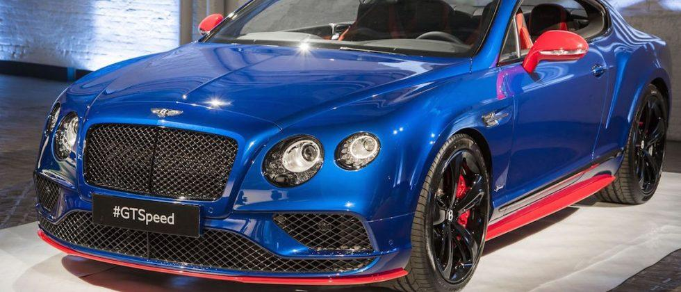 Bentley Continental GT Speed has 633hp, comes in Superman colors