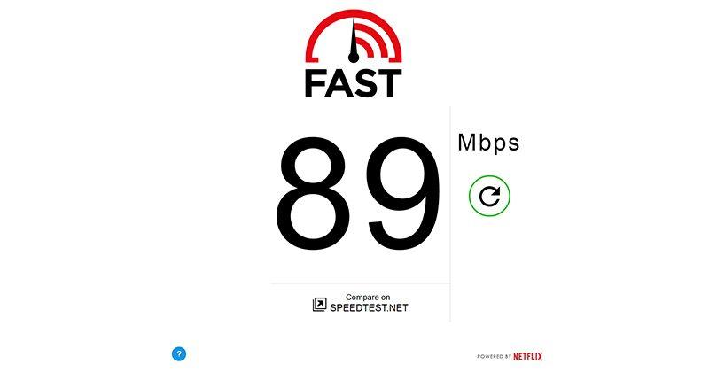 Netflix launches Fast, a simple online speed test
