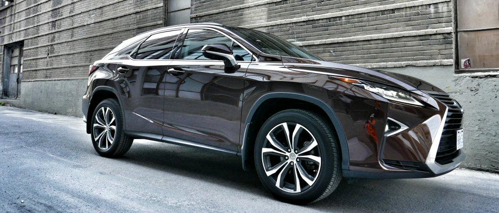 The Lexus RX 350 Takes On 4 of the Best Luxury SUVs for 2016
