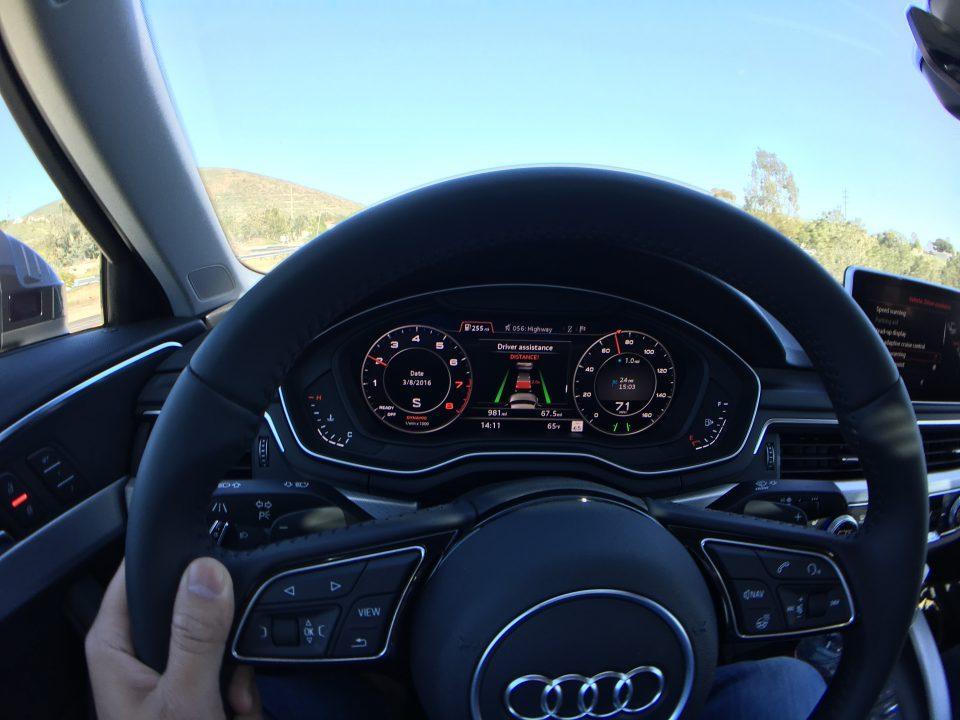 Audi A4 Pre Sense