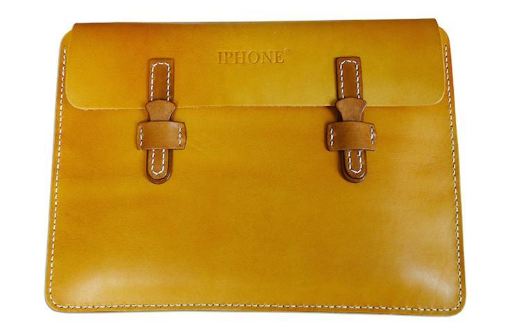 """IPHONE"" leather handbag"