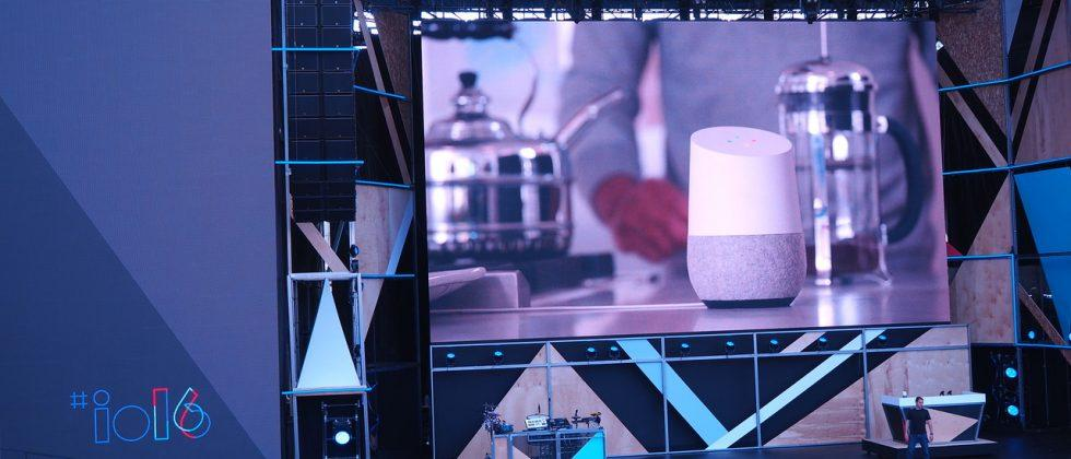 This is Google Home, the answer to Alexa