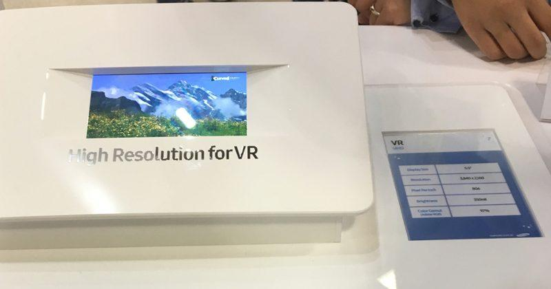 Samsung has a 5.5-inch 4K display for VR in the works