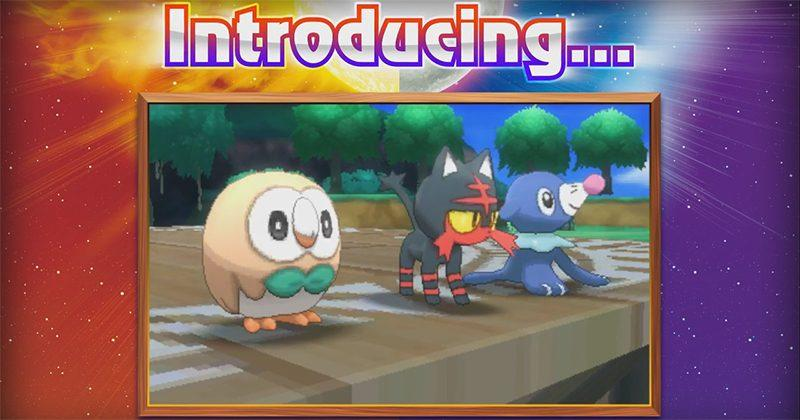 Pokemon Sun and Moon starters revealed: What you need to know