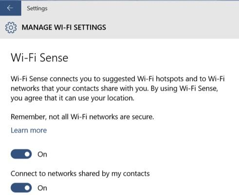 Microsoft axes contentious Windows 10 Wi-Fi sharing feature