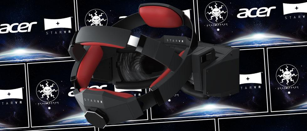 Acer VR headset made real: StarVR's rebirth continues