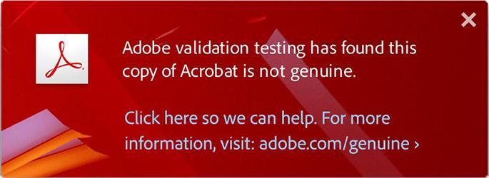 Adobe uses shame to tackle software piracy - SlashGear