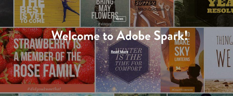 Adobe Spark is a free, super simple way to make attractive things