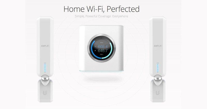 Ubiquiti Amplifi is a heavy-duty Wi-Fi system for homes