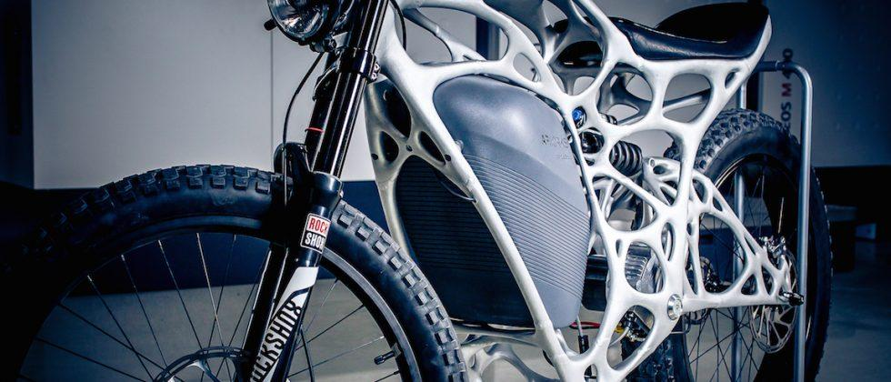 First 3D-printed motorcycle built by Airbus