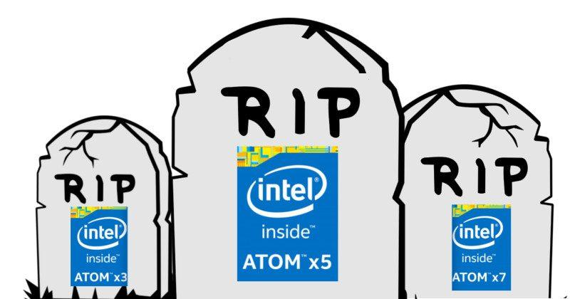 Intel kills Atom, smartphone, tablet future in limbo