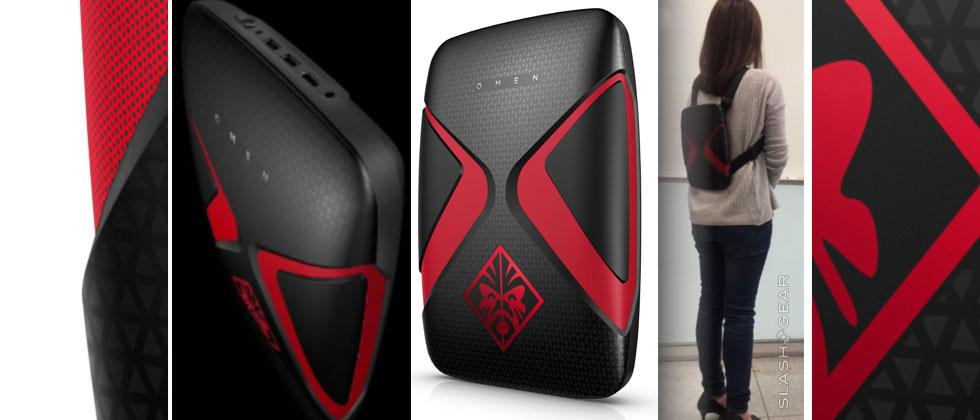The Omen X VR PC Pack is an HP VR backpack for HTC VIVE
