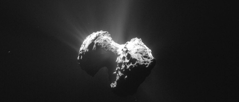 Comet 67P dust discovered to contain building blocks of life