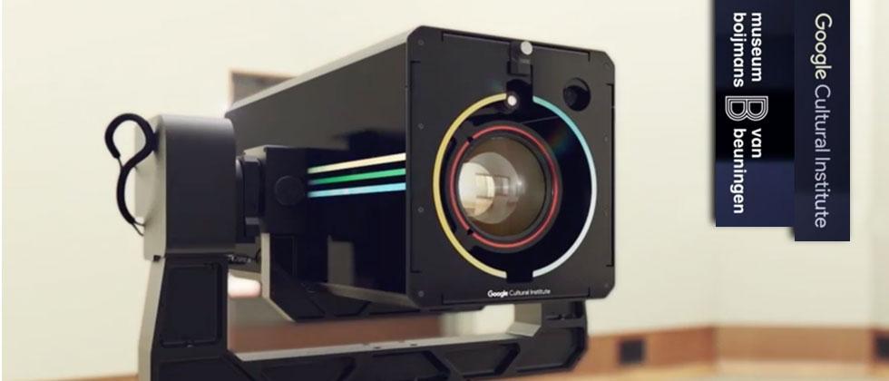 Google's robotic Art Camera takes gigapixel photos of classic art